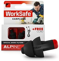 Alpine WorkSafe -  špunty do uší proti hluku